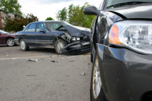 Cariati Law Toronto, Ontario Injury Lawyers Car Accident front-end damage side panel damage