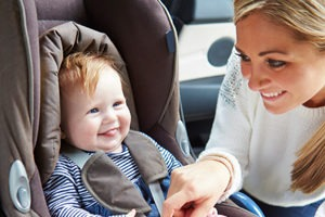 Cariati Law Toronto, Ontario Injury Lawyers Defective Products Child Injury child in car seat with mother