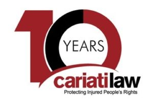 ontario injury lawyers, toronto personal injury lawyer, mississauga car accident law firm, toronto injury lawyer, hamilton car accident law firm, toronto law firm, cariati law 10 year anniversary