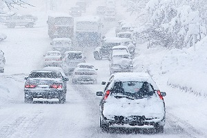 Winter months have the most car accidents out of any other month in the year.